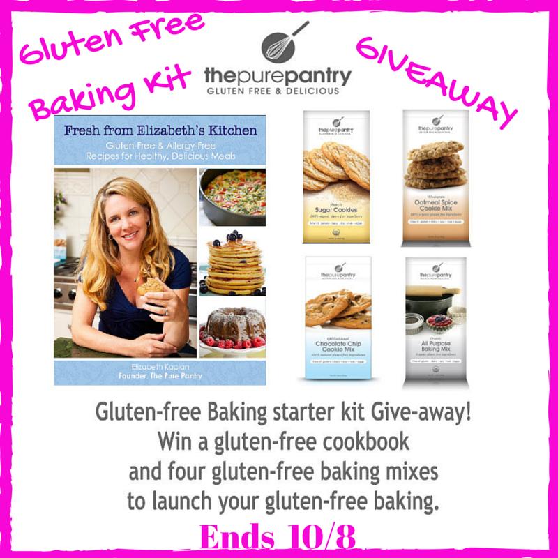 Gluten Free Baking Starter Giveaway