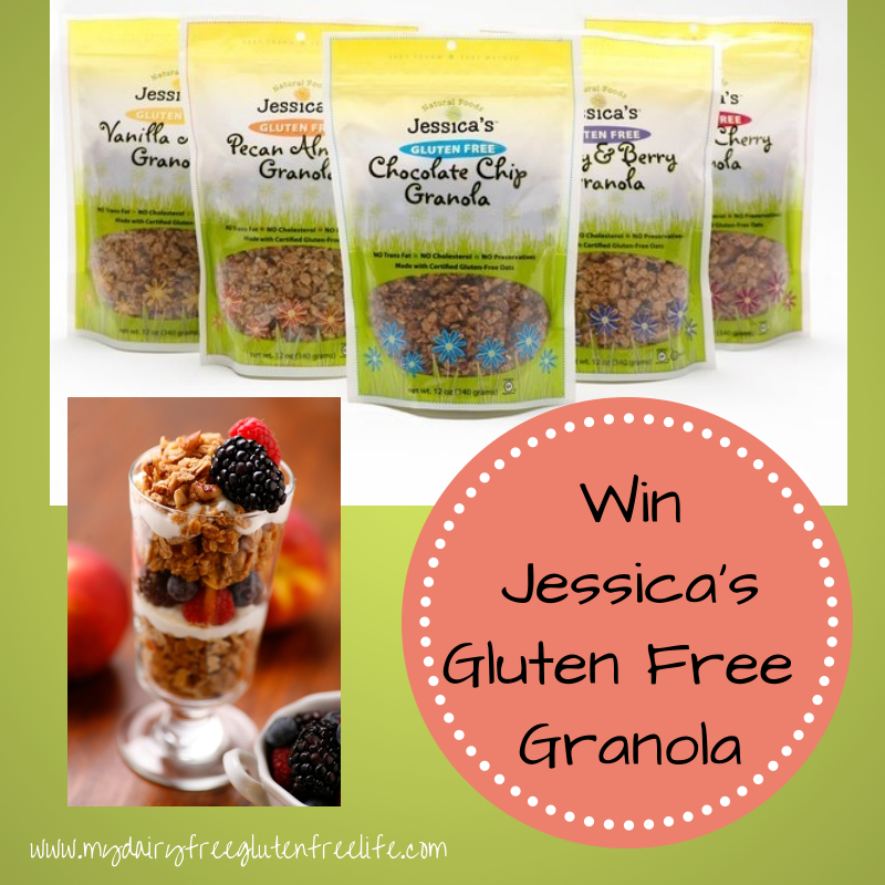 Jessica's Natural Foods Granola Giveaway