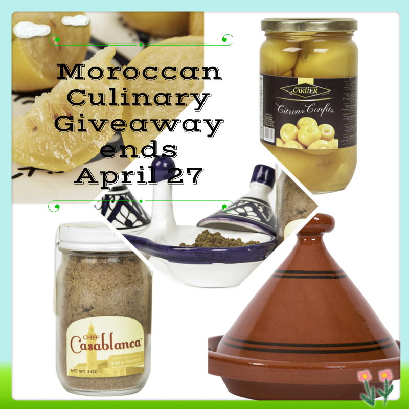 Moroccan Culinary Experience Giveaway