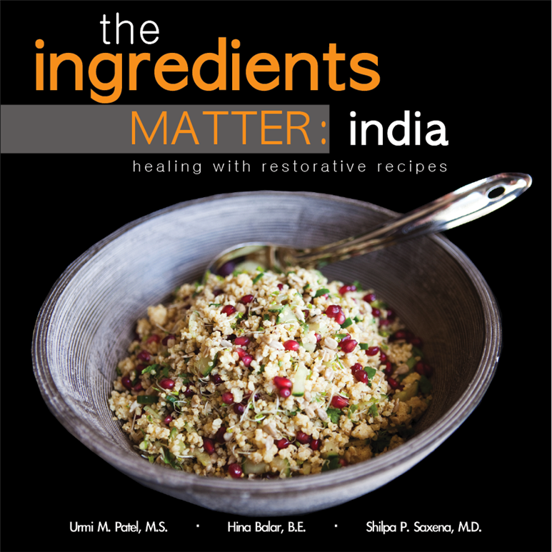 """The Ingredients Matter: India"" Giveaway"