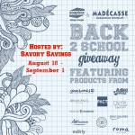 Give Back to School Giveaway Soapbox Soaps August 18 - September 1