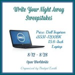 Write Your Night Away Sweepstakes