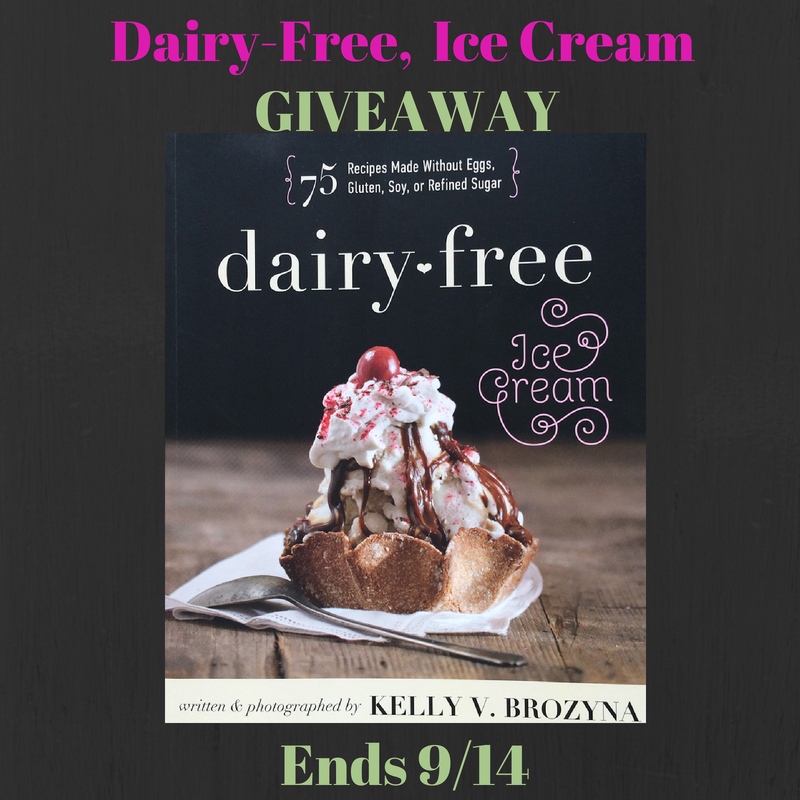 Dairy-Free Ice Cream Giveaway