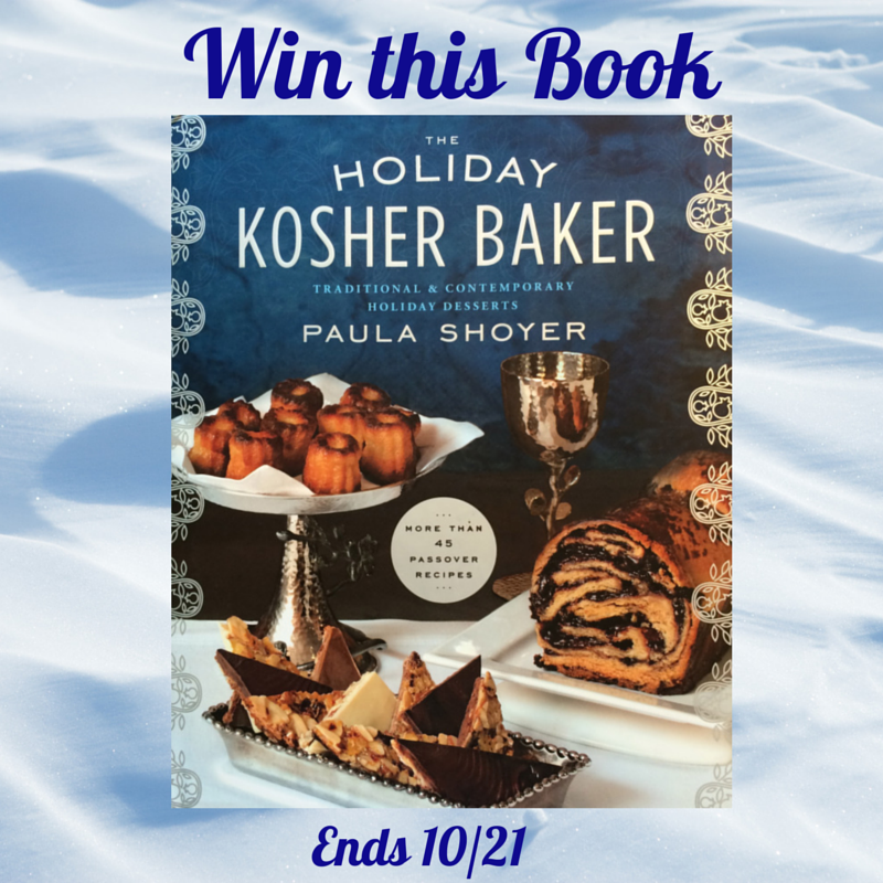 Holiday Kosher Baker Giveaway Kosher Baker Cookbook #giveaway #review
