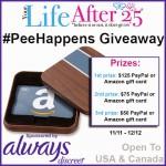 PeeHappens Giveaway
