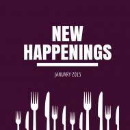 New Happenings