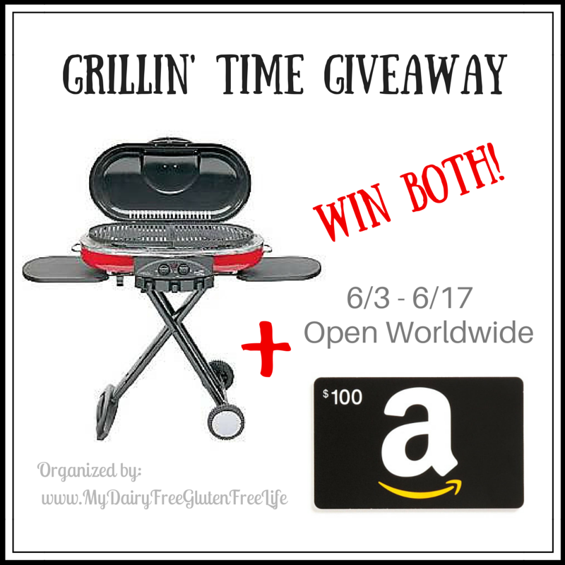 Coleman Grill & $100 Amazon GC Giveaway #GrillinTime