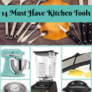 14 Must Have Cooking Tools