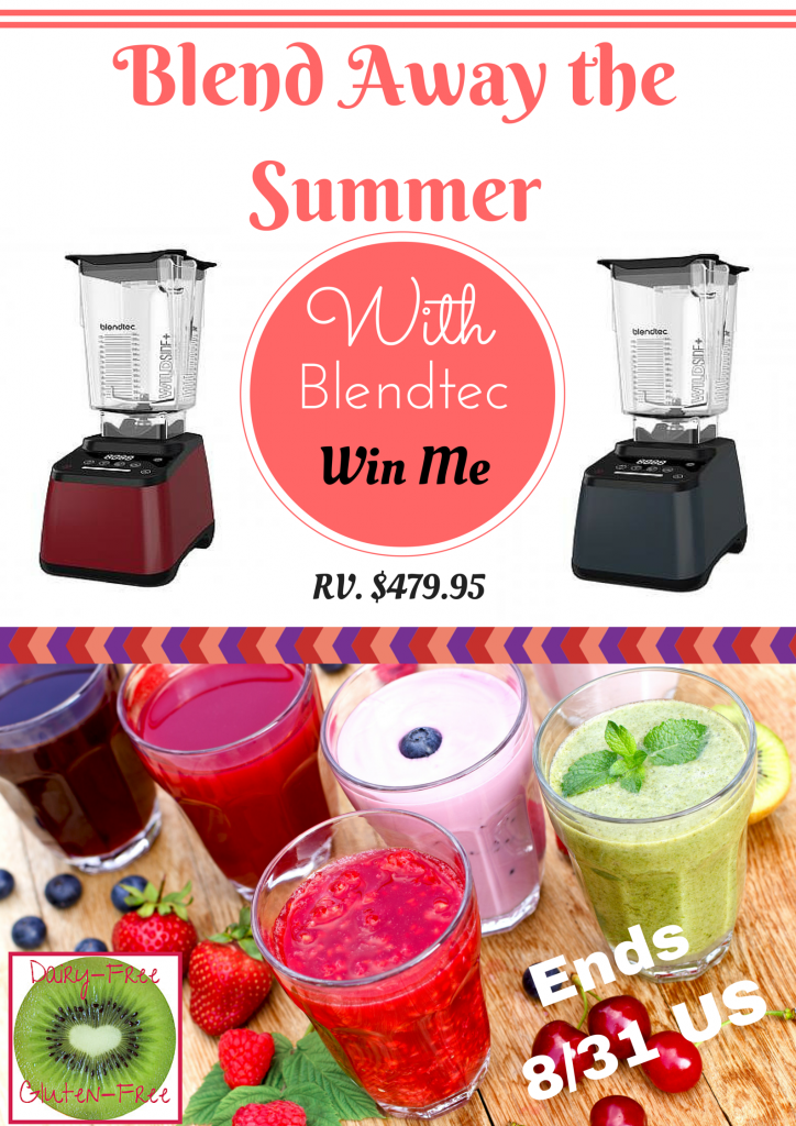 Enter the Blend Away the Summer with Blendtec. Ends 8/31
