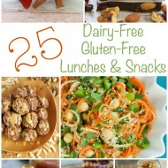Dairy Free Gluten Free Lunches & Snacks