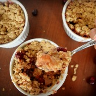 Fall Fruit Crumble, Vegan and Gluten-Free