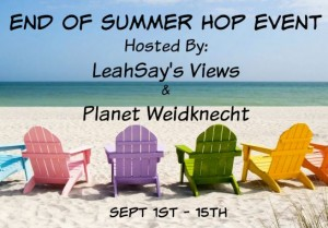 End of Summer Hop Event Hosted by LeahSay's Views & Planet Weidknecht Sept 1-15.