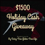 $1500 Holiday Cash Giveaway