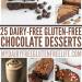 25 Dairy-Free Gluten-Free Chocolate Desserts