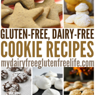 25 Gluten-Free Dairy-Free Cookie Recipes