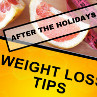 Tips for Weight Loss After Holiday Indulgences