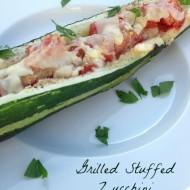 Grilled Stuffed Zucchini Recipe