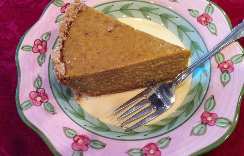 Pumpkin Pie Vegan and Gluten Free