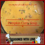 Easy One Pot Meals Recipe:  Pumpkin Curry Soup