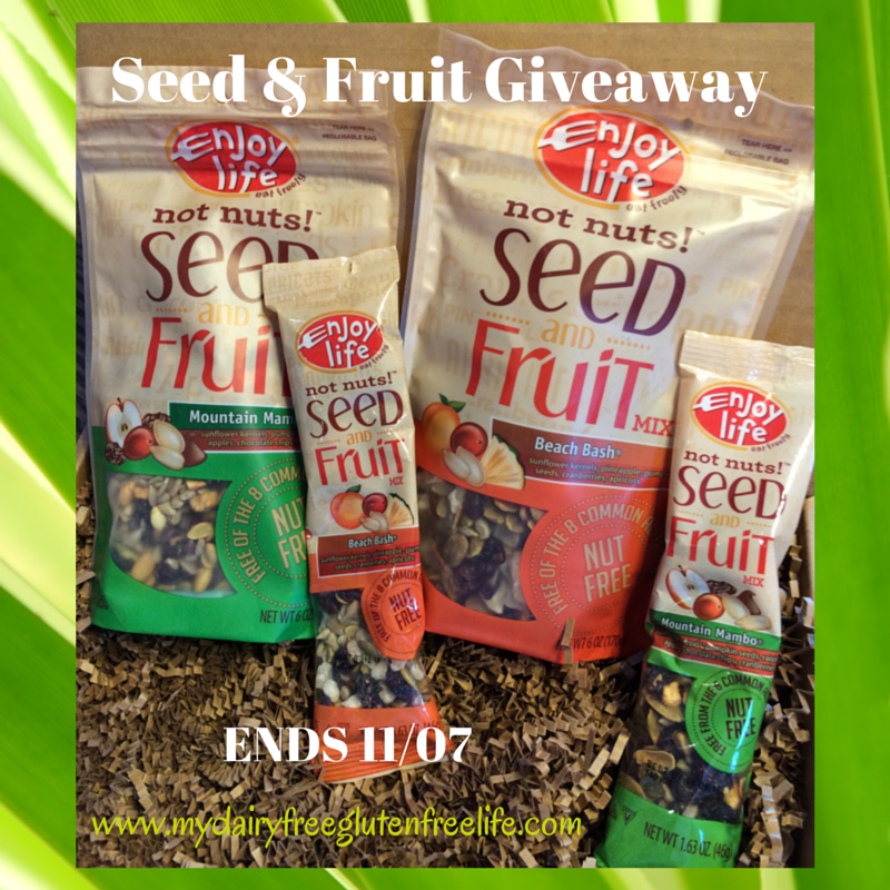 Enjoy Life Seed and Fruit Giveaway