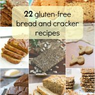22 Gluten free Bread and Cracker Recipes