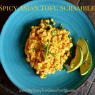 Spicy Asian Tofu Scramble Recipe