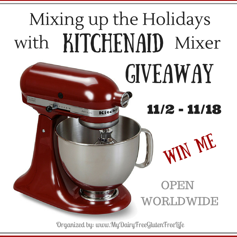 Mixing up the Holidays with KitchenAid Mixer Giveaway