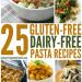 Gluten Free Pasta Dishes #dairyfree