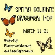 $25 Amazon GC Giveaway with Spring Delights Giveaway Hop ( Ends 3/31)