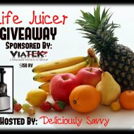 The Life Juicer Giveaway from Viatek (Ends 4/21)