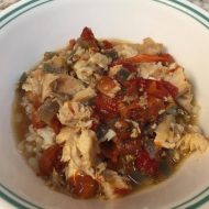 Chicken Cacciatore Crock Pot Recipe Gluten and Dairy Free