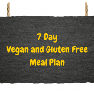 Tasty 7 Day Gluten Free Vegan Meal Plan