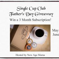Single Cup Club Father's Day Giveaway 6/15
