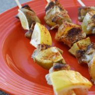 Lemon Lime Taco Chicken Kabobs, Gluten & Dairy Free