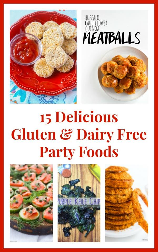 15 delicious gluten dairy free party foods