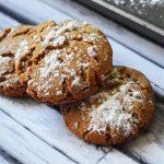 Gingerbread Crinkle Cookies Gluten and Dairy Free