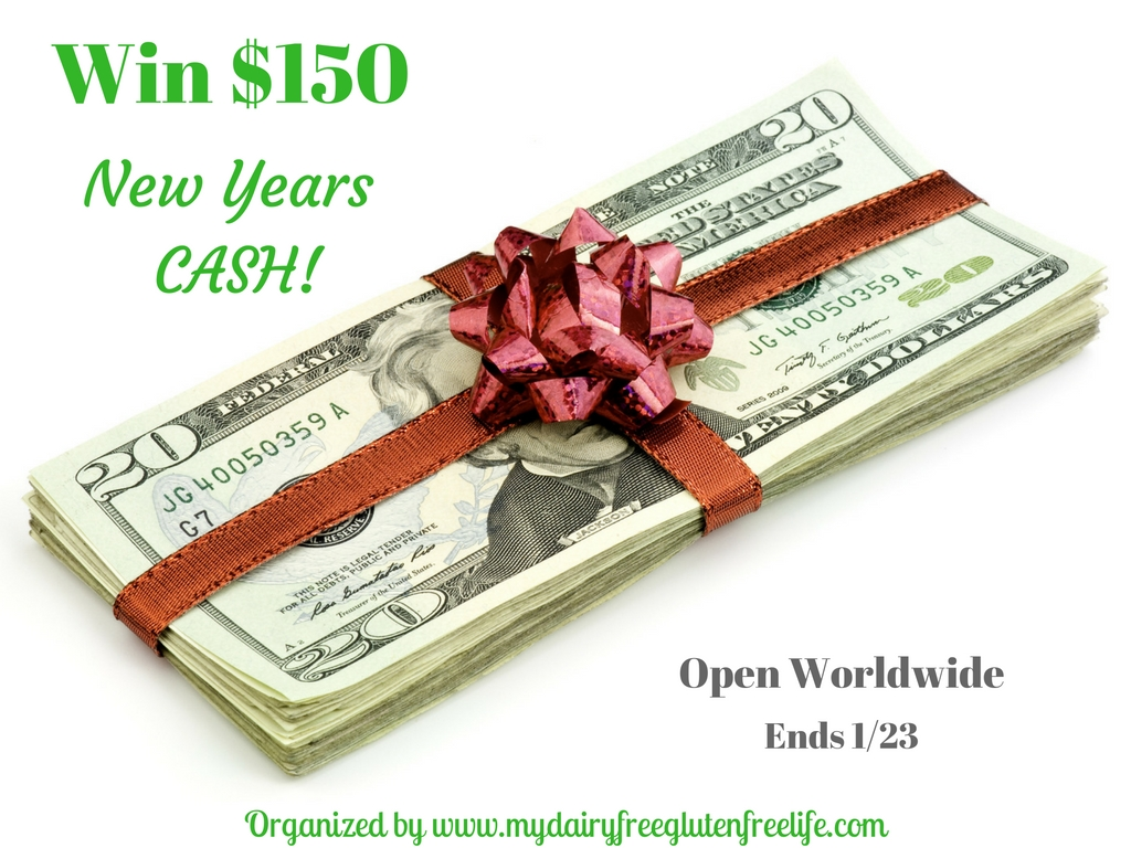 Win $150 New Years CASH Giveaway