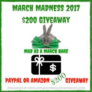 March Madness $200 Giveaway – PayPal Cash or Amazon GC