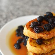 Squash and Banana French Toast